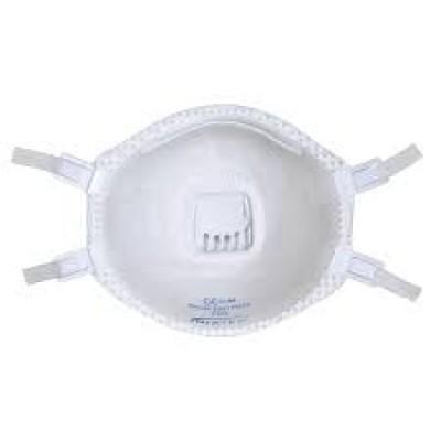 maschera antipolvere con valvola